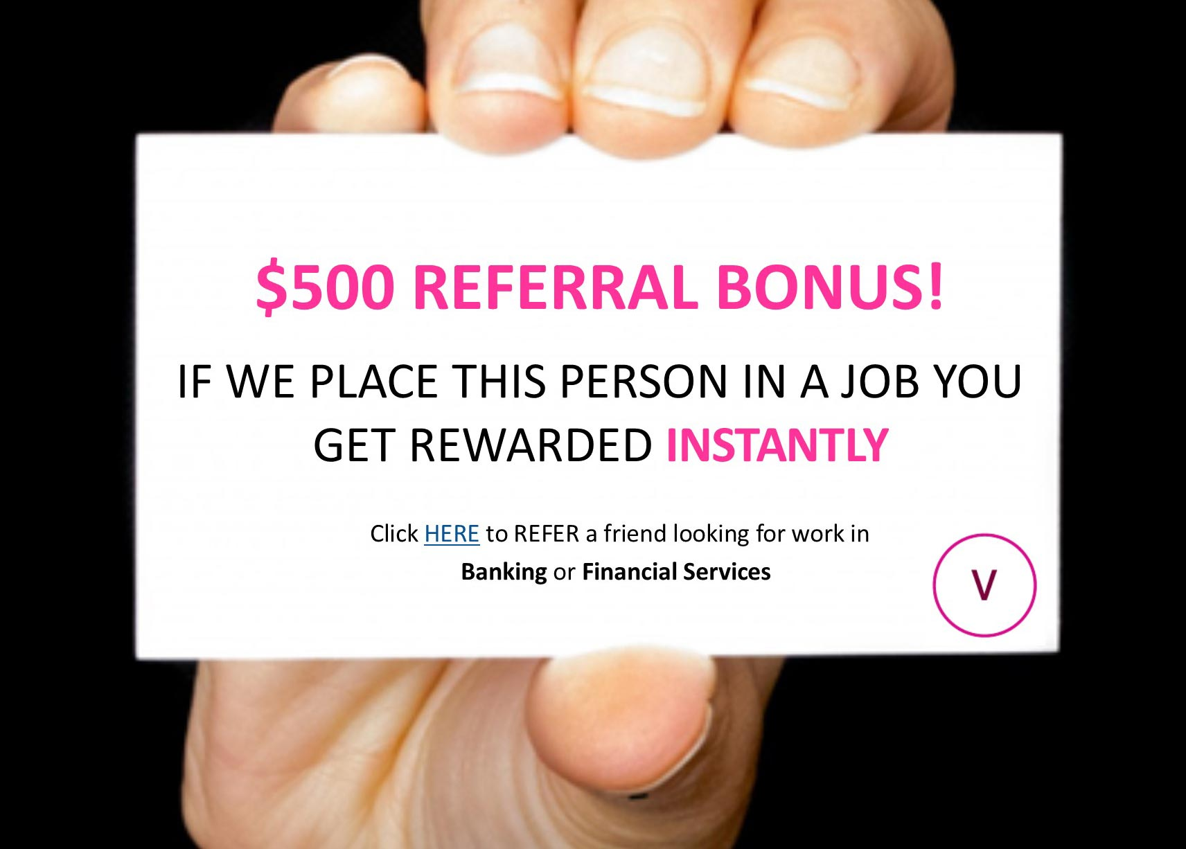 $500 referral bonus